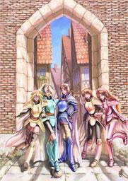 聖騎士たち