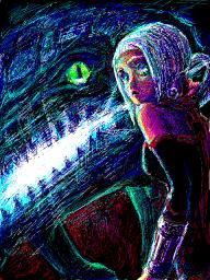 オルタとドラゴン