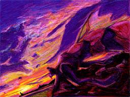 黄昏のブルードラゴン