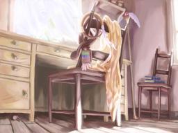 エリーさんの書斎